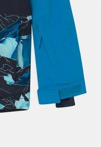 Quiksilver - SIDE HIT UNISEX - Snowboardová bunda - brilliant blue - 3
