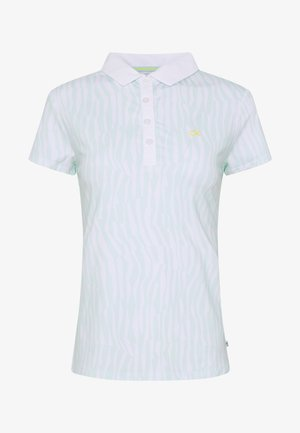 SUNRAY  - Polo shirt - aqua/white