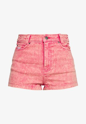 RETRO - Denim shorts - purple