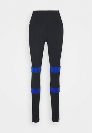 Leggings - black/white/royblu