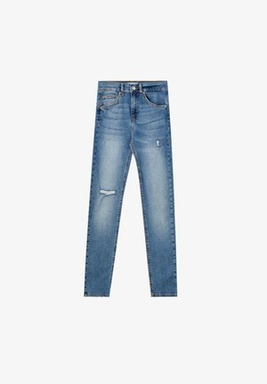 PUSH UP - Jeans Skinny Fit - light blue