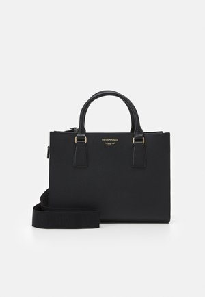 ILENIA MINI GRAIN WOMENS TOTE BAG SET - Sac à main - black
