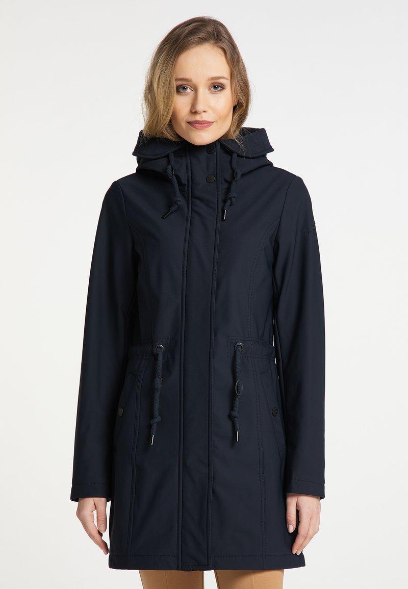 DreiMaster - Winter coat - nachtblau