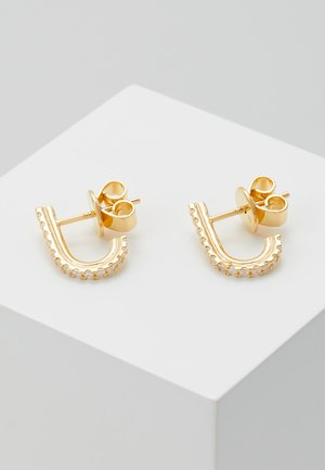 EARRINGS BIRD - Pendientes - gold