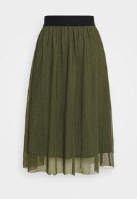 Bruuns Bazaar - THORA VIOLET SKIRT - A-line skirt - olive green - 4
