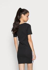 Calvin Klein Jeans - SQUARE NECK DRESS - Jersey dress -  black - 2