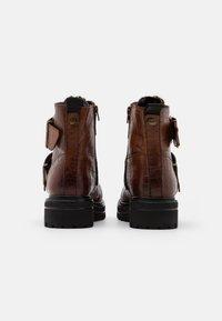 Buffalo - MIMI - Snørestøvletter - cognac - 3