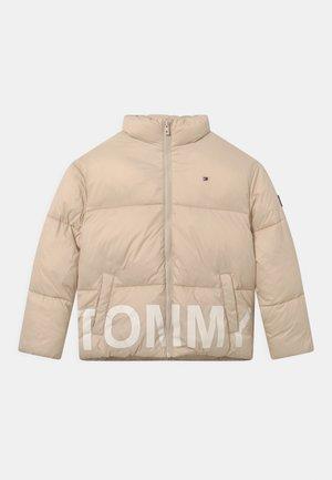 TONAL PUFFER - Winter jacket - smooth stone