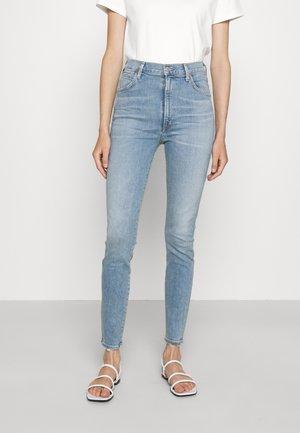 CHRISSY  - Skinny džíny - light blue