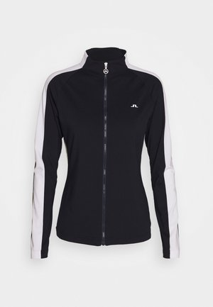 MARIE FULL ZIP MID LAYER - Trainingsvest - navy