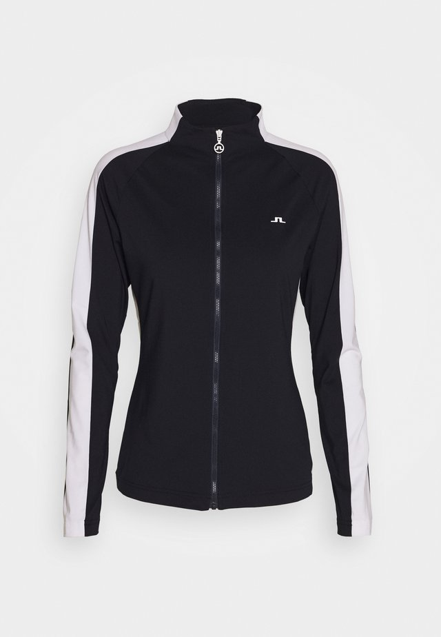 MARIE FULL ZIP MID LAYER - Training jacket - navy