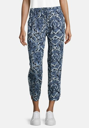 MIT PRINT - Trousers - classic blue/white