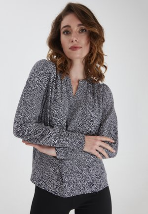 FRPAPRIK - Blouse - navy blazer mix