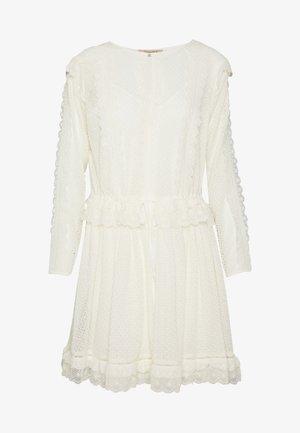 ABITO CORTO IN SANGALLO - Sukienka letnia - off-white