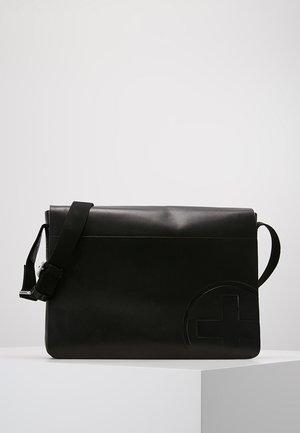 JONES MESSENGER - Briefcase - black