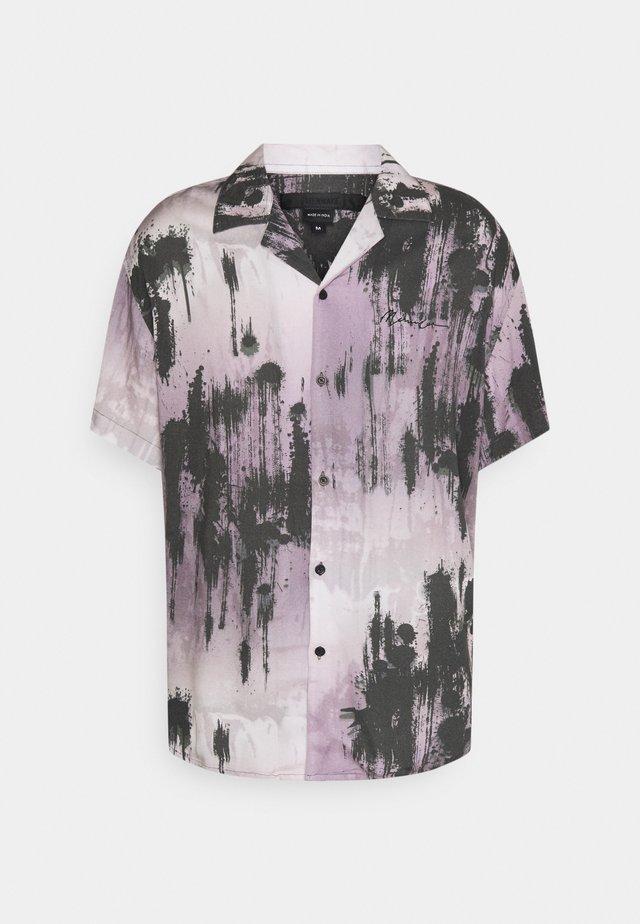 TIE DYE BOWLING UNISEX  - Shirt - purple