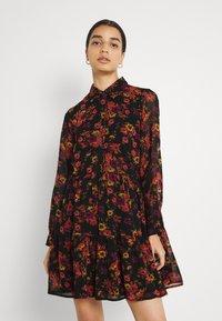 Molly Bracken - LADIES WOVEN DRESS - Day dress - windflowers black - 0