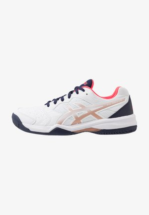 GEL-DEDICATE 6 CLAY - Clay court tennis shoes - white