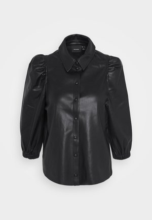 VMBUTTERLOLA 2/4  - Button-down blouse - black