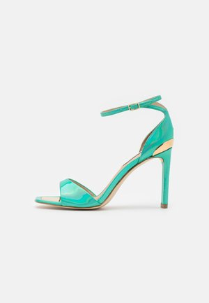 DIVINE - Sandaler - fondo verde/blu