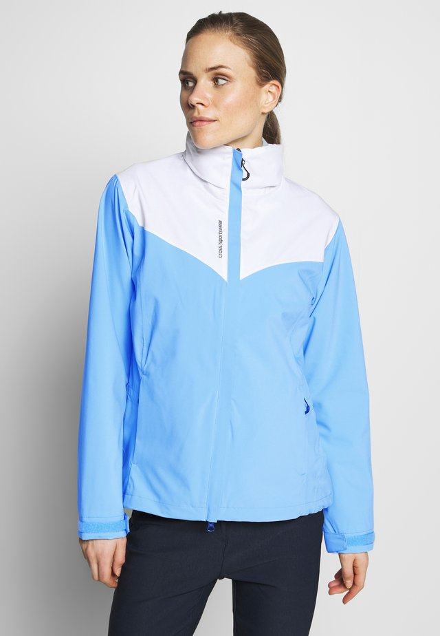 WOMENS CLOUD JACKET - Waterproof jacket - forever blue