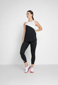 ASICS - TOKYO TANK - Sports shirt - brilliant white/performance black - 1