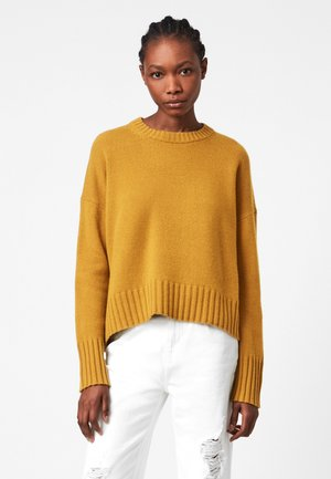 ARUN CREW NECK - Jumper - yellow