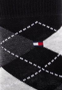 Tommy Hilfiger - ORIGINAL ARGYLE 2 PACK - Strømper - black - 1