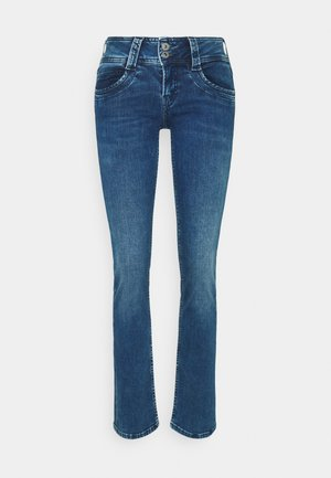 GEN - Straight leg jeans - denim