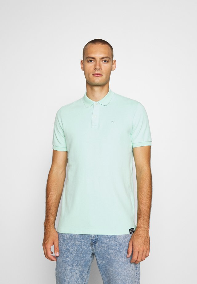 GARMENT DYED STRETCH  - Poloshirts - faded mint