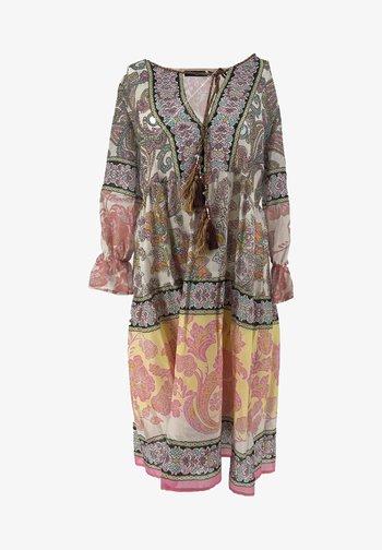 BOHO MINI - Day dress - pink