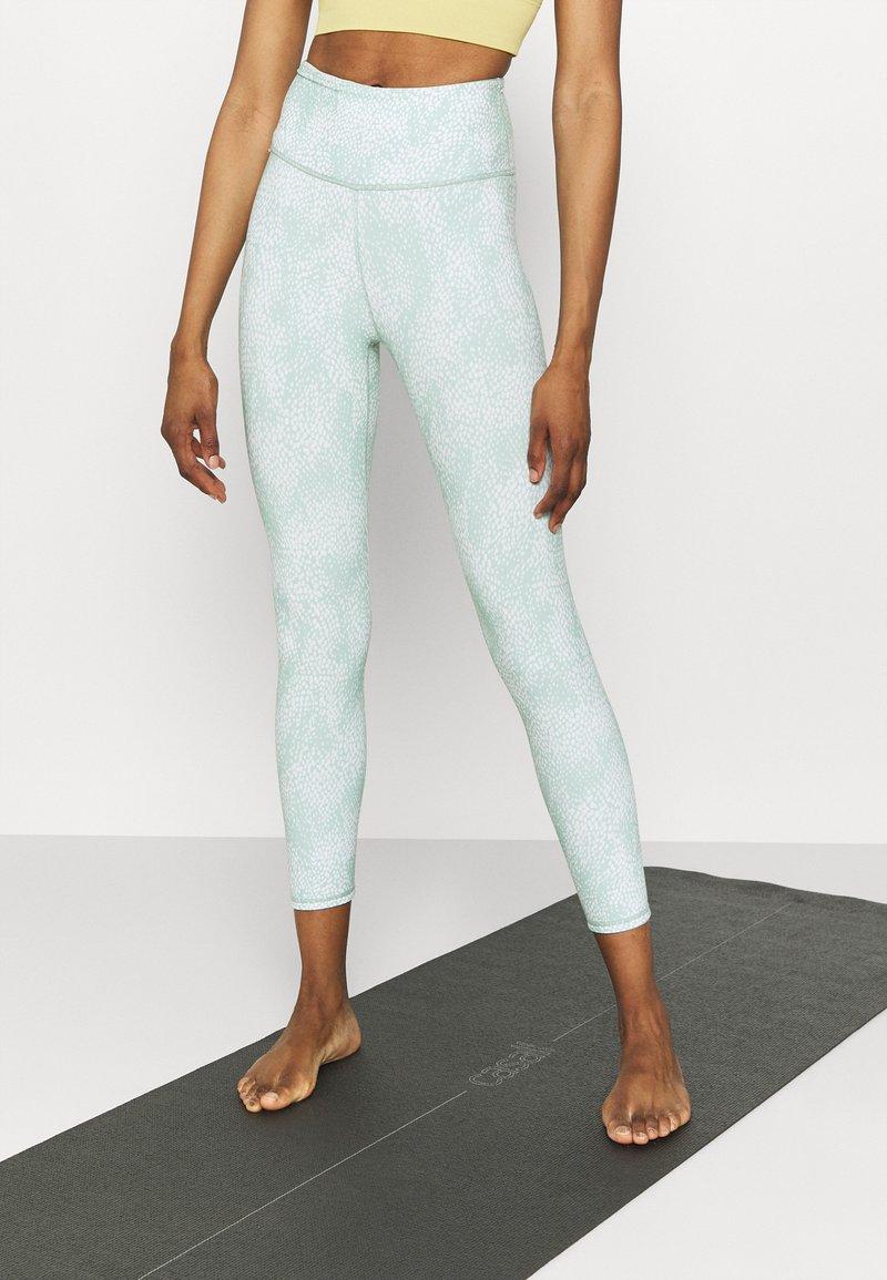 Cotton On Body - REVERSIBLE 7/8 - Leggings - mint chip