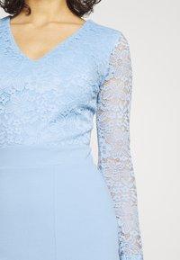 WAL G. - MENA LACE MIDI DRESS - Jersey dress - powder blue - 3