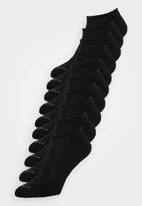 ONLINE UNISEX ESSENTIAL SNEAKER 10 PACK - Calze - black