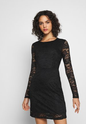 Cocktail dress / Party dress - black/black