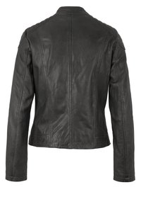 7eleven - RAFFI - Leather jacket - grey - 4