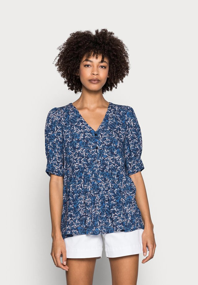 BLOUSE - Bluse - navy