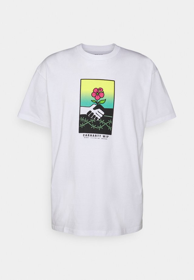 TOGETHER - T-shirts print - white