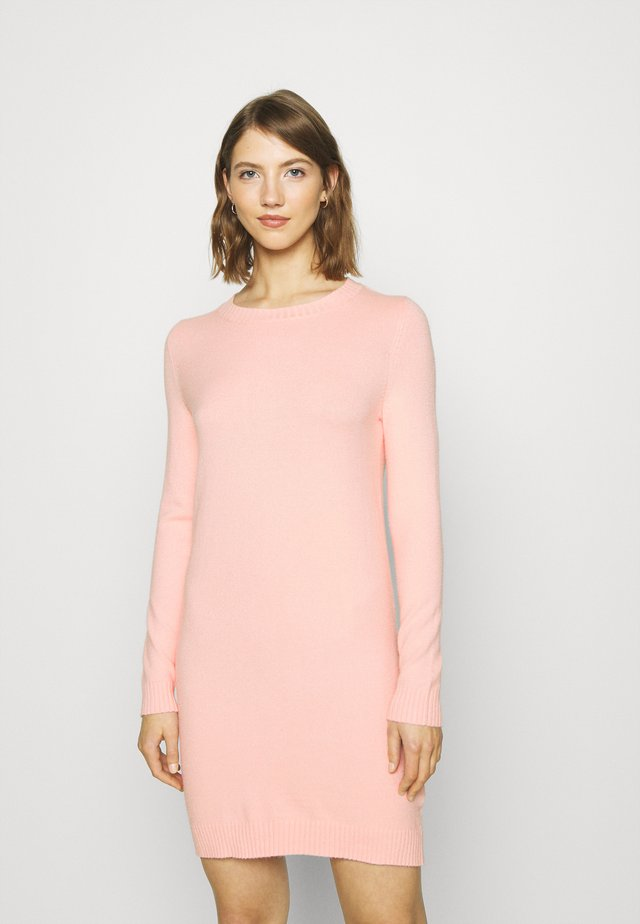 NMPENNY O NECK DRESS - Jumper dress - english rose