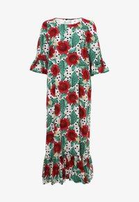 Madam-T - Maxi dress - rosa rot - 7