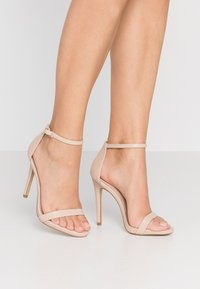 ALDO - CARAA - High heeled sandals - bone - 0