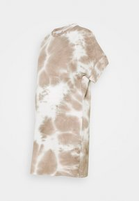 MAMALICIOUS - MLHARMON DRESS - Print T-shirt - smoke gray - 0