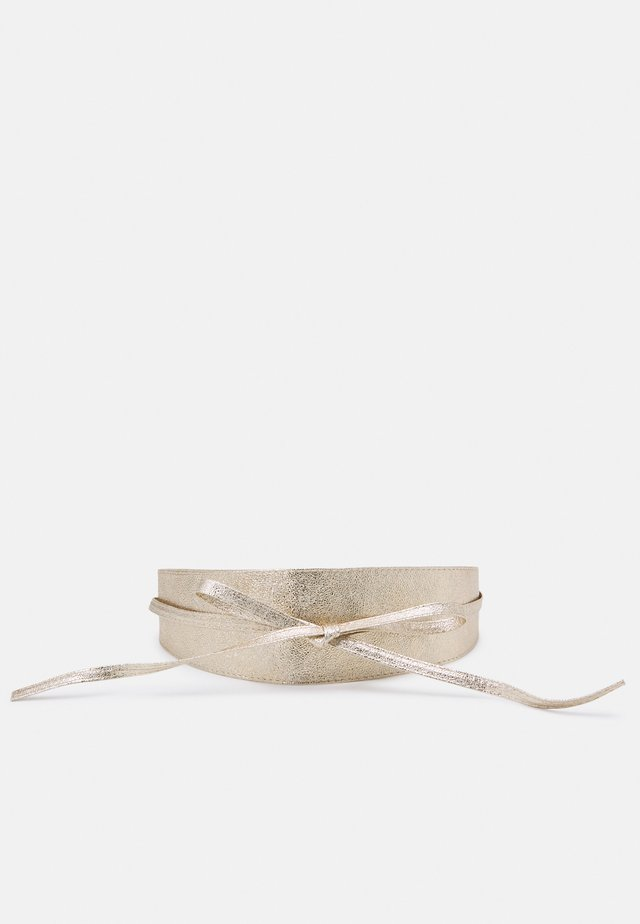 PCDREA WAIST BELT - Pasek - gold-coloured