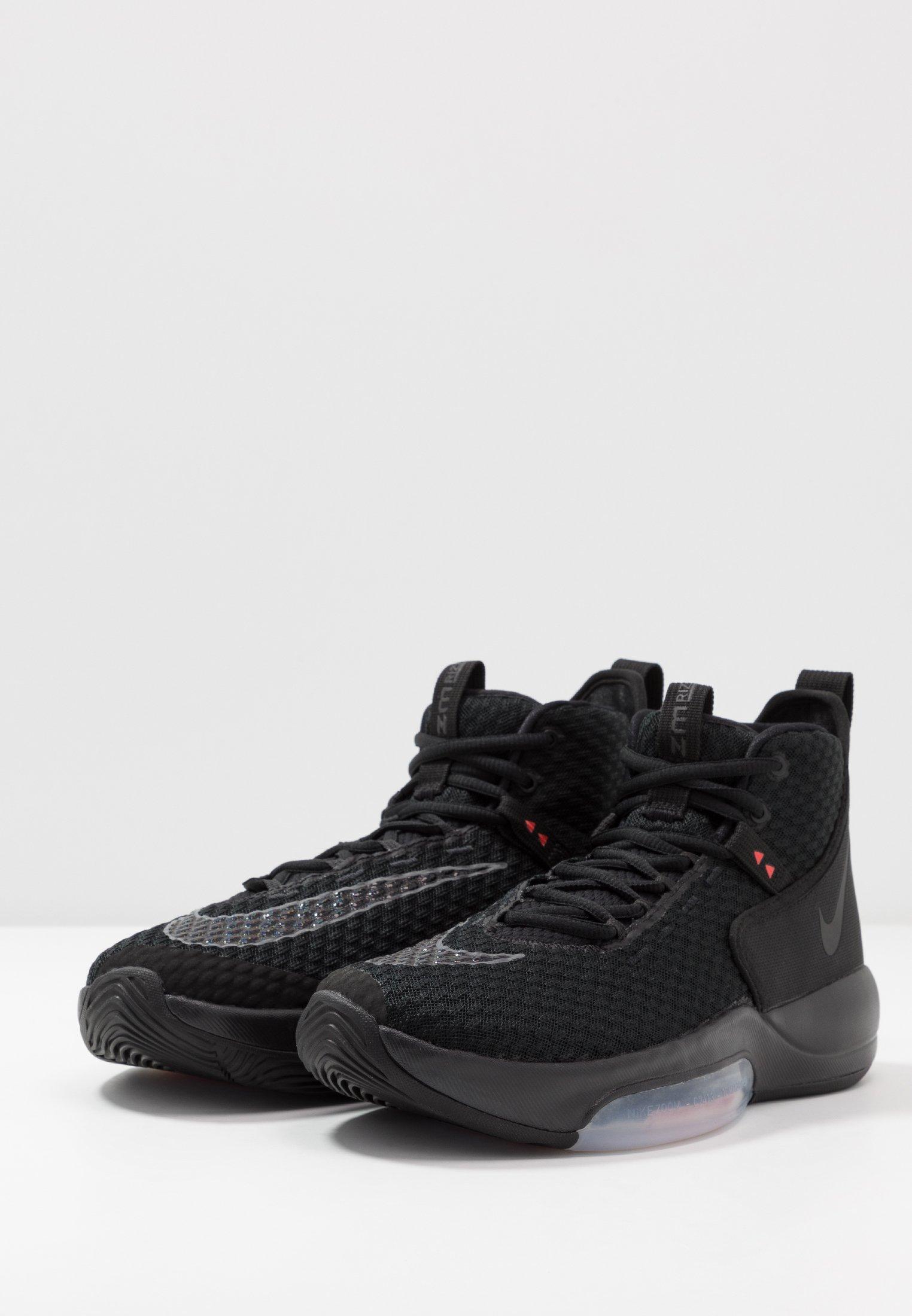Nike Performance ZOOM RIZE - Basketballschuh - black/schwarz - Herrenschuhe ZcnpJ