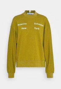 Proenza Schouler White Label - LONG SLEEVE - Sweatshirt - moss - 5