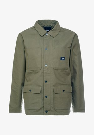 DRILL CHORE COAT LINED - Chaqueta fina - grape leaf