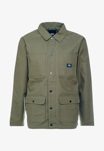 MN DRILL CHORE COAT LINED - Summer jacket - grape leaf
