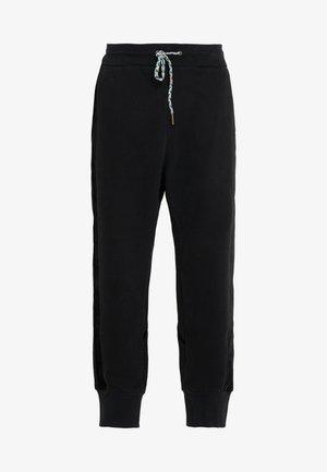 TRACKSUIT PANTS - Tracksuit bottoms - black
