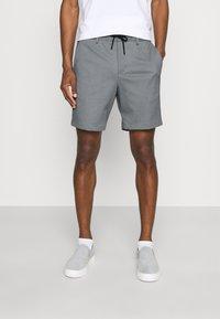 Selected Homme - SLHPETE STRING CAMP - Shorts - light grey melange - 0