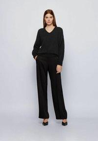 BOSS - FILLALLON - Pullover - black - 1